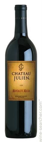 Chateau Julien Royalty Red Barrel Selected